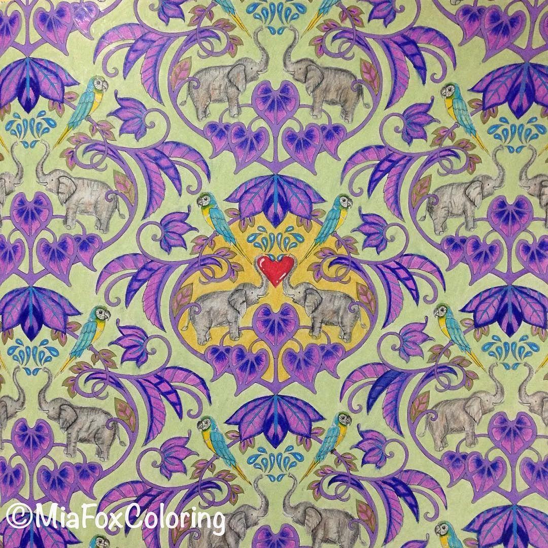 done magicaljungle johannabasford coloring colouring