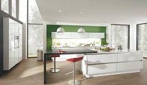 Superb Design Einbauk che Aglaja Lichtweiss K chen Quelle