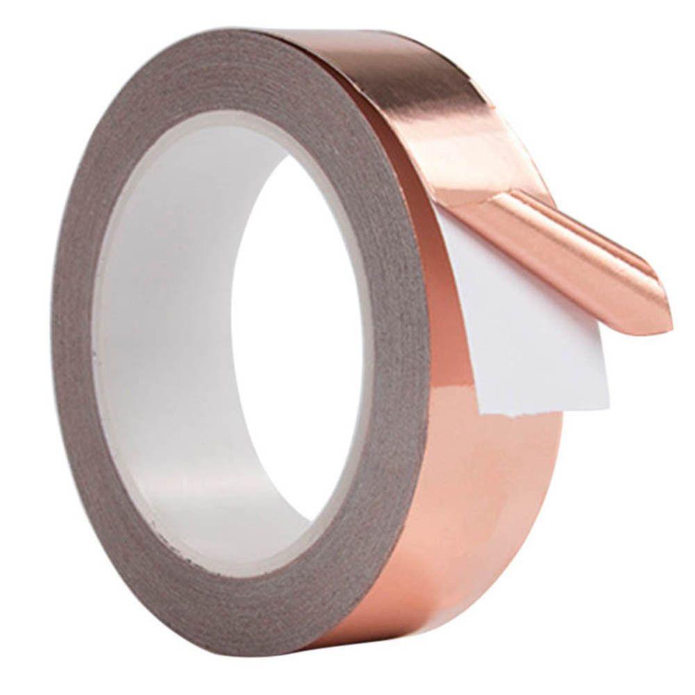 4m Adhesive Conductive Copper Slug Roll Tape Repellent Guitar Pickup Emi Shield Unbranded Copper Foil Tape Copper Foil Foil Tape