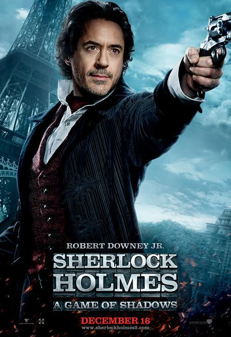 New Movie Poster - sherlock-holmes-a-game-of-shadows 사진