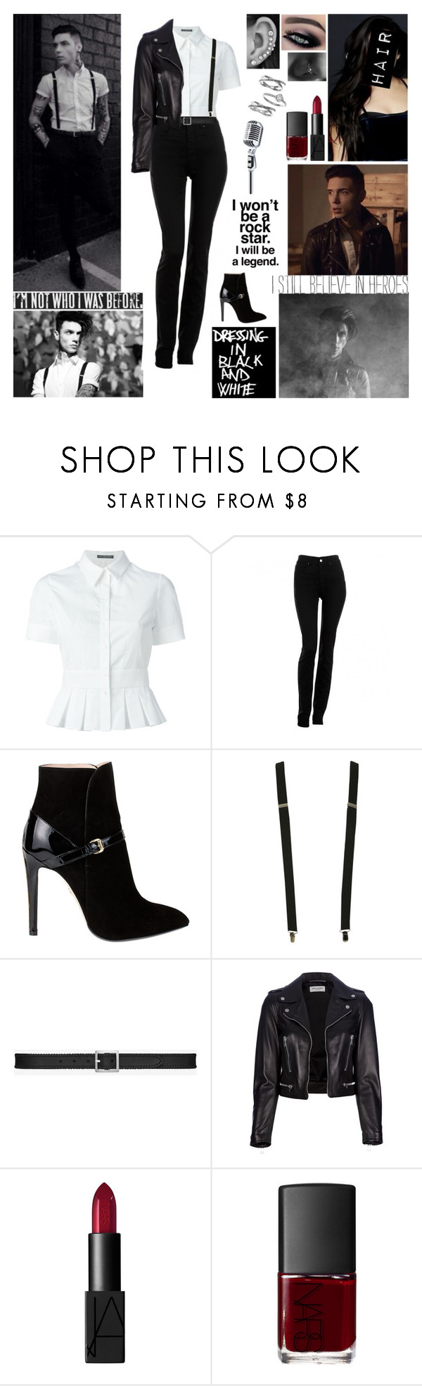 """""""✘ Andy Black Style Steal ✘ We do it our own way, no matter what they try to say about it. We've got our own plans, yeah. They don't need to understand. ✘"""" by blueknight ❤ liked on Polyvore featuring Alexander McQueen, Armani Jeans, Emilio Pucci, Wet Seal, Yves Saint Laurent, NARS Cosmetics and Judith Jack"""