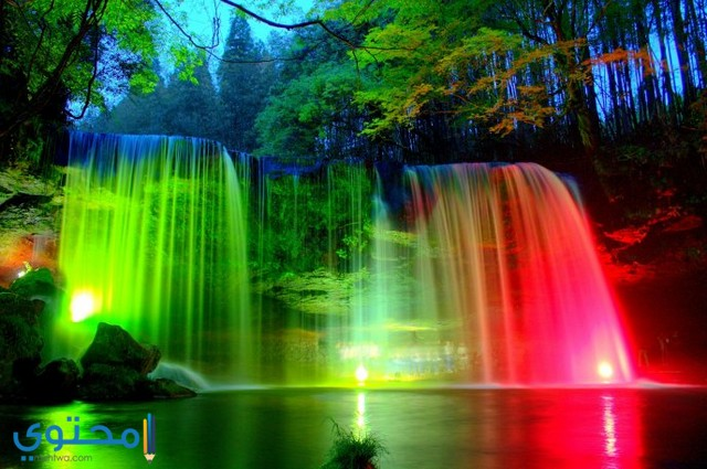 خلفيات لاب توب 4k Waterfall Wallpaper Beautiful Nature Wallpaper Rainbow Wallpaper Backgrounds