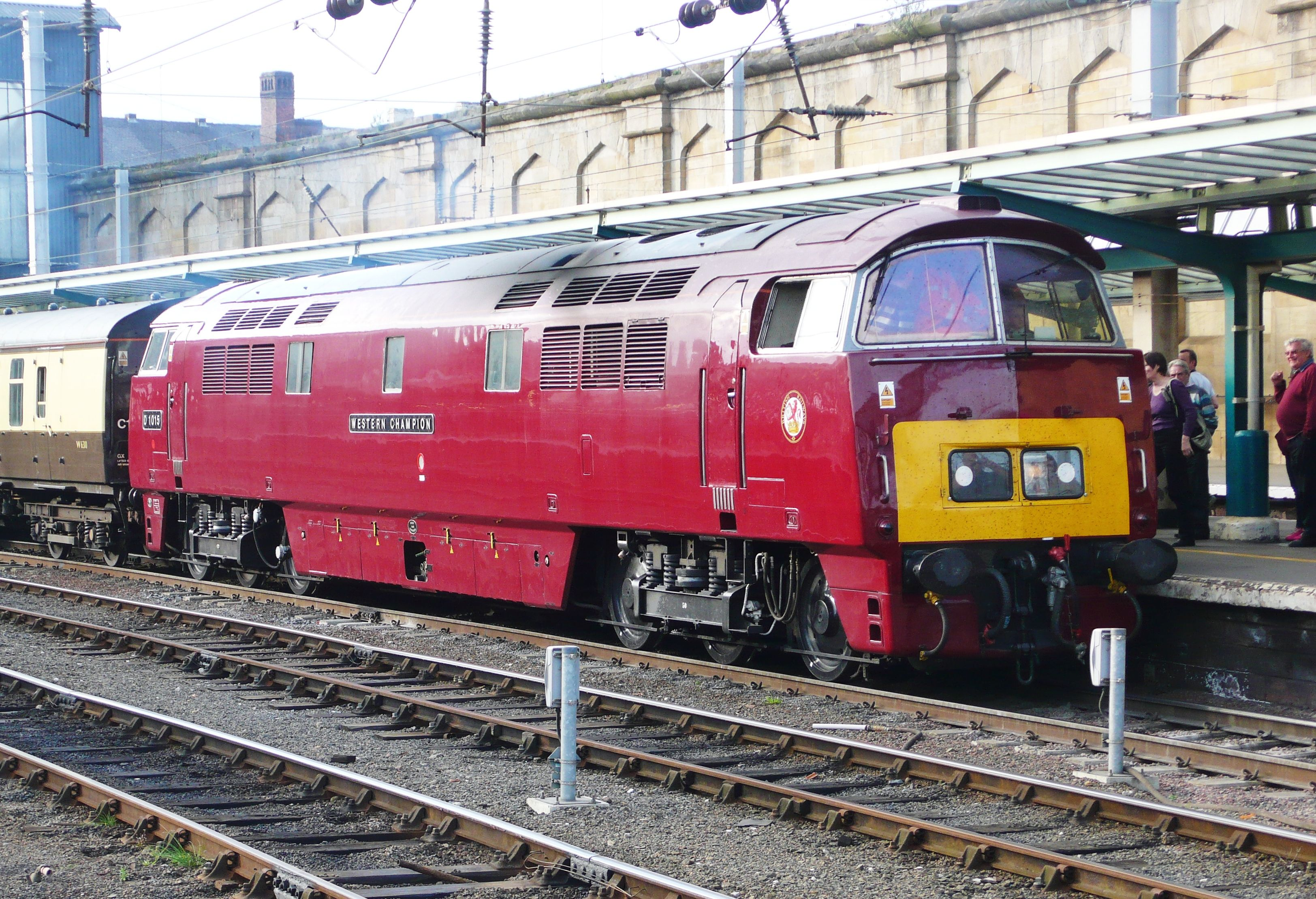 Class 52 Western. Used to see these on my holidays in Devon, back in the 70's!