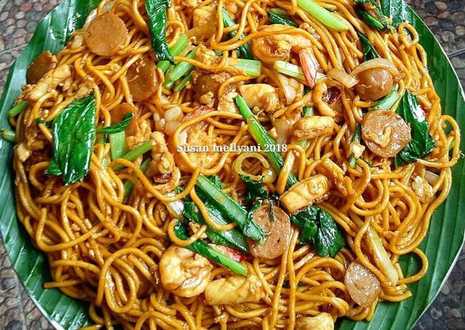 Resep Mie Goreng Seafood Oleh Susan Mellyani Resep Resep Masakan Masakan Makanan Laut