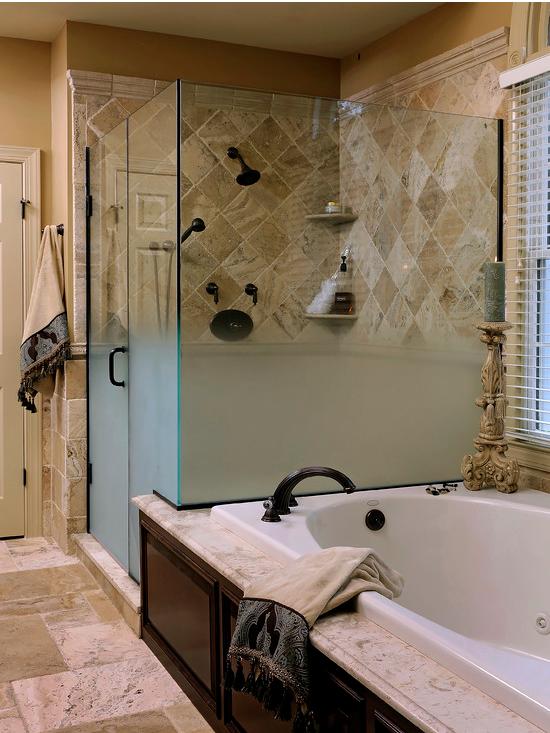 by Davida\'s Kitchen & Tiles. Love the bathtub and shower ...