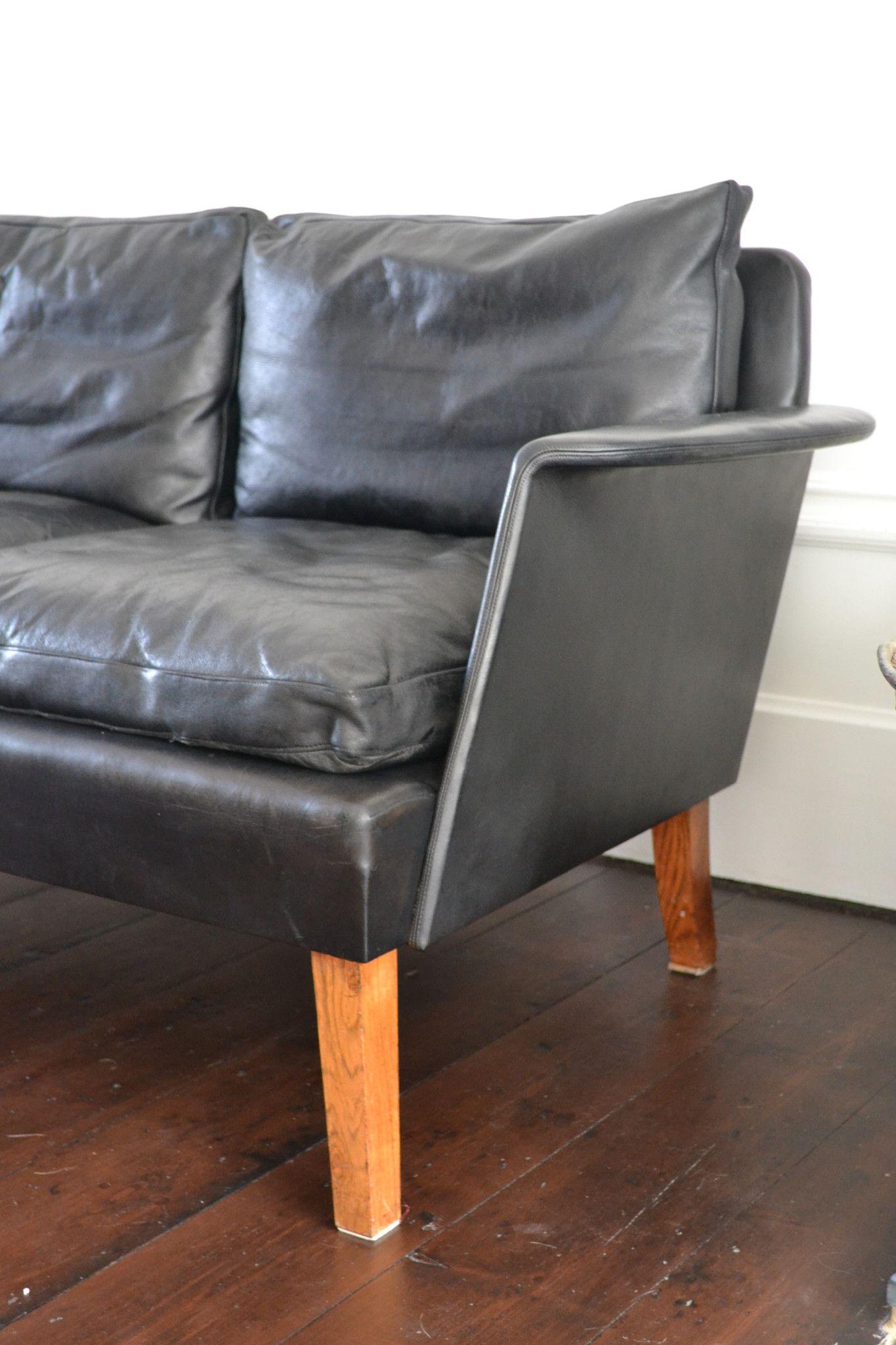 Danish Mid Century Modern Love Seat Sofa By Hans Olsen Etcetera