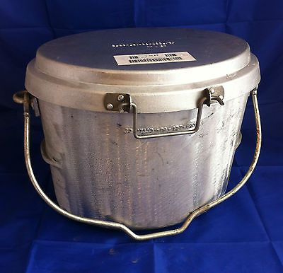 British army 3 #gallon #dixie pan / pot for #field kitchen & bush ...