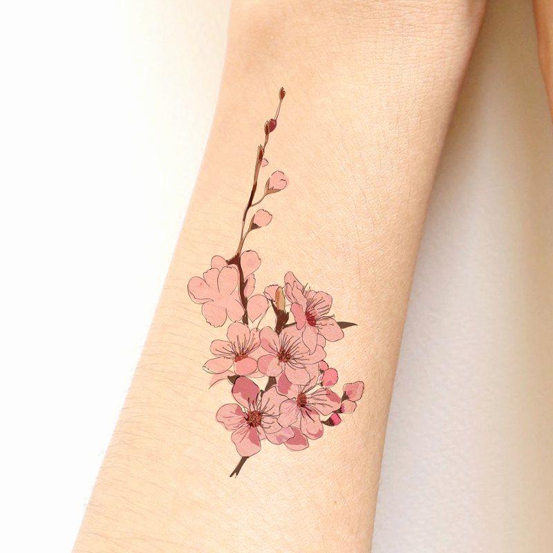 32+ Tatouage fleur de cerisier avant bras ideas