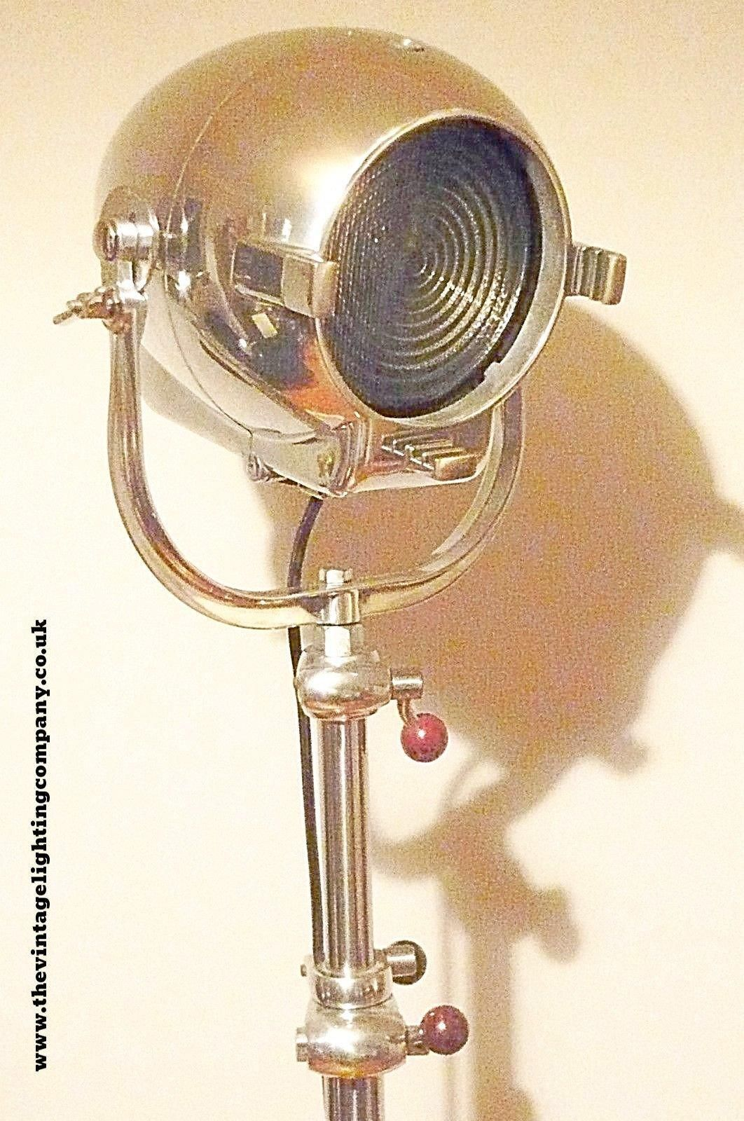Vintage 1950 S Theatre Lamp By Strand Of London With
