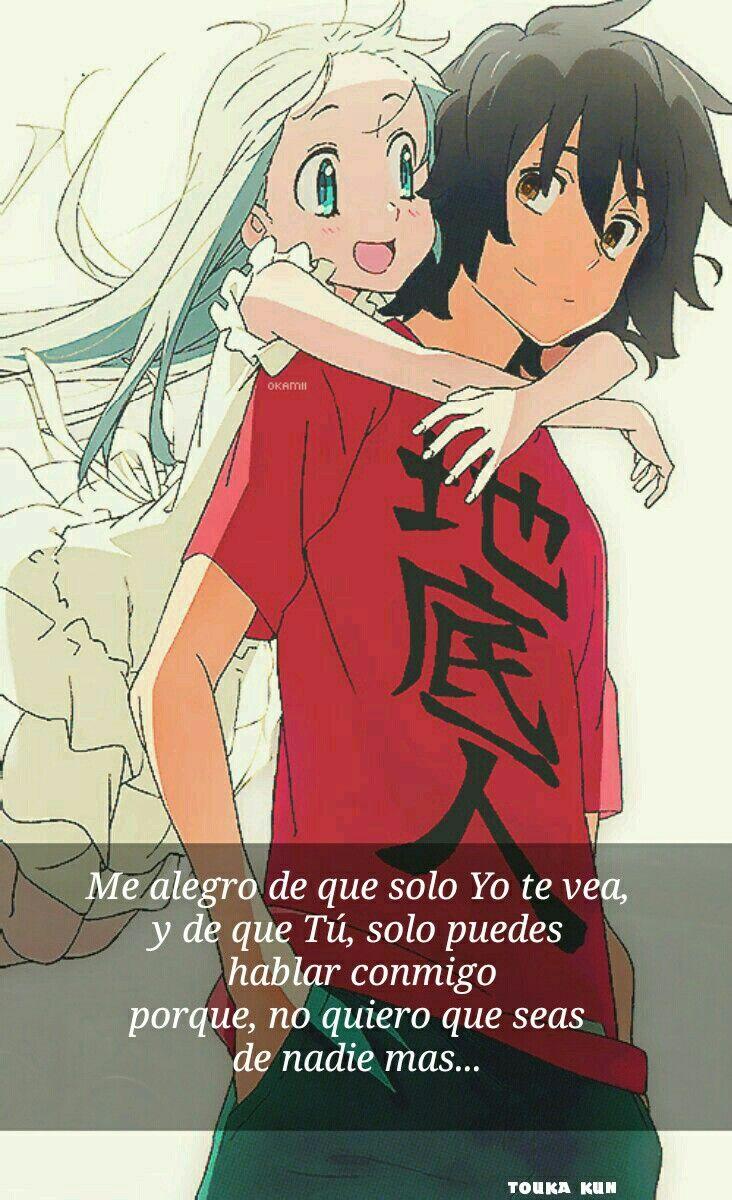 Menman Y Jintan Frases Anime Español By Touka Kun
