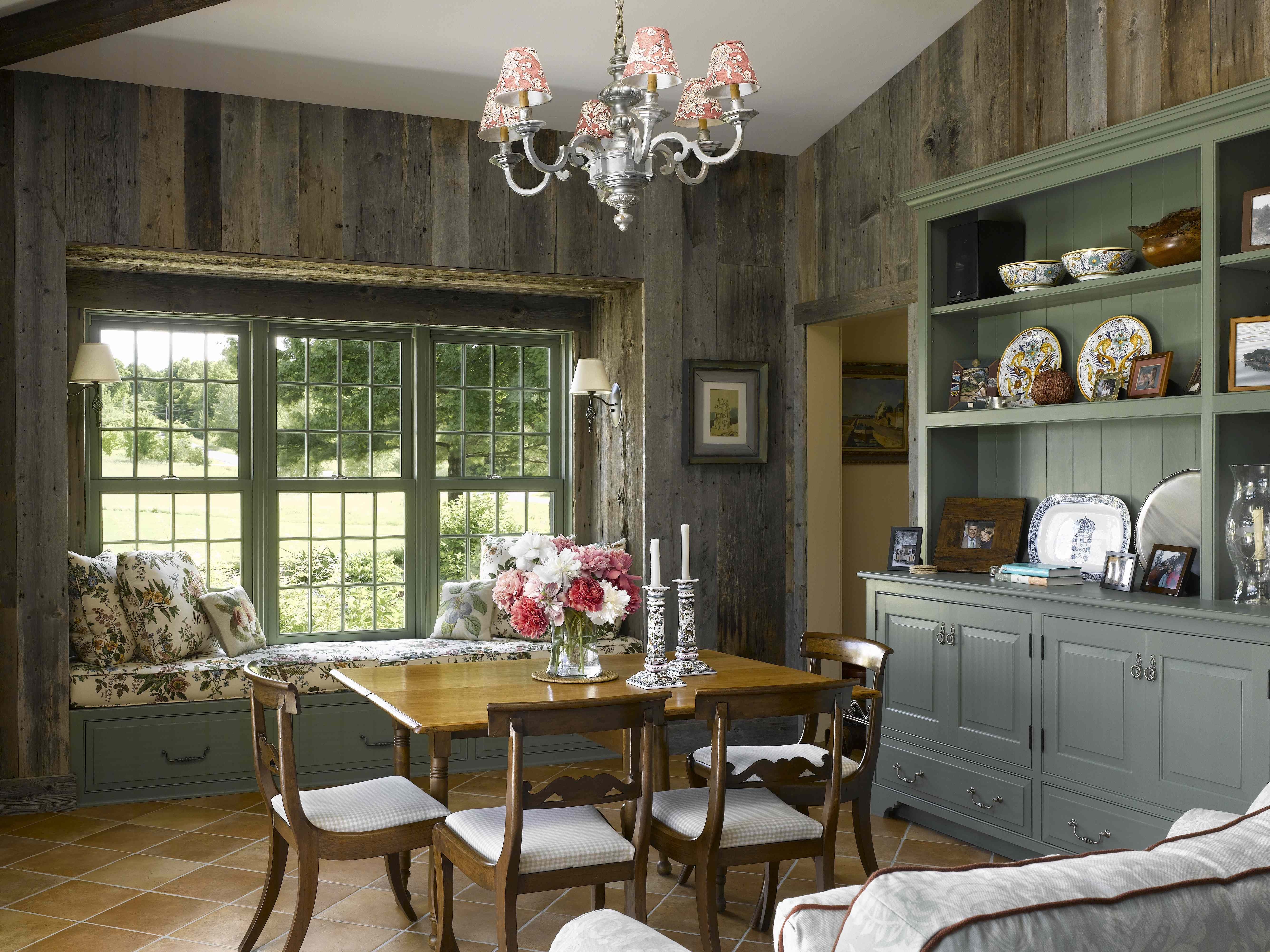 Master bedroom addition  Breakfast room addition to an historic home in Vermont using