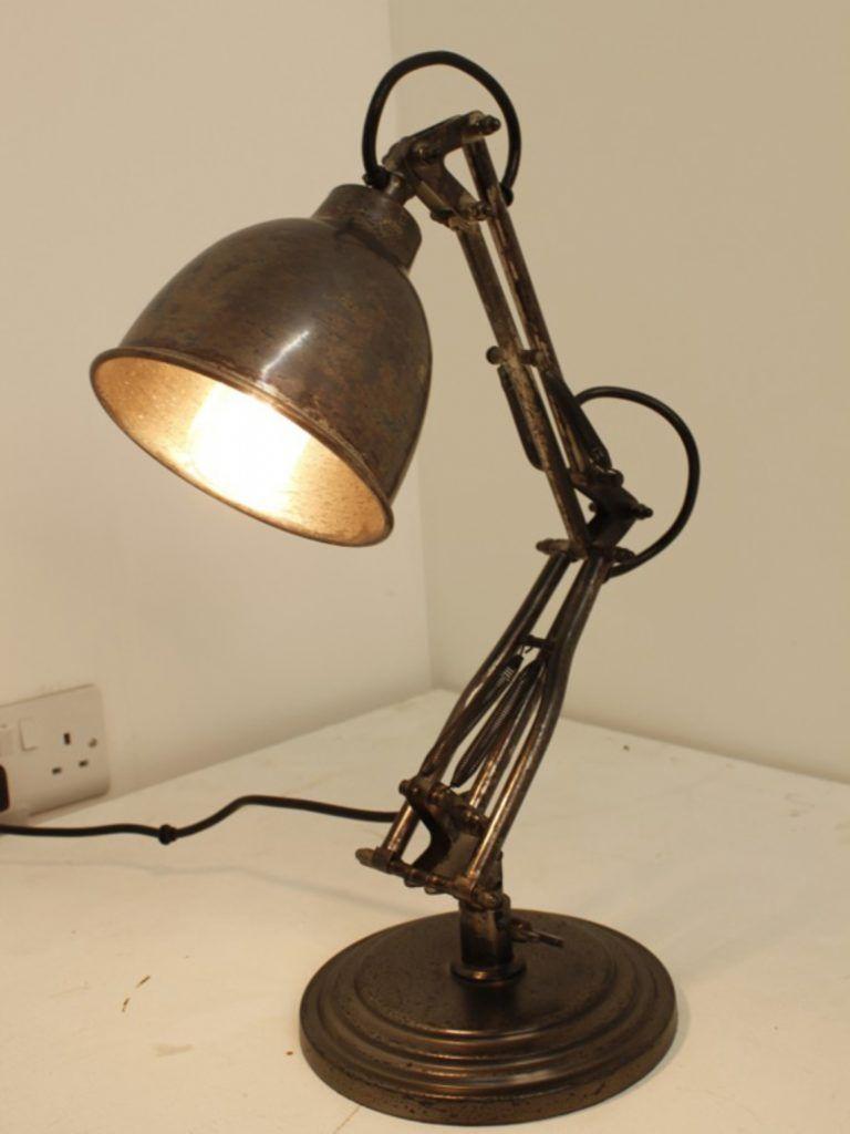 Table Lamp Entrancing Industrial Table Lamps Vintage Industrial