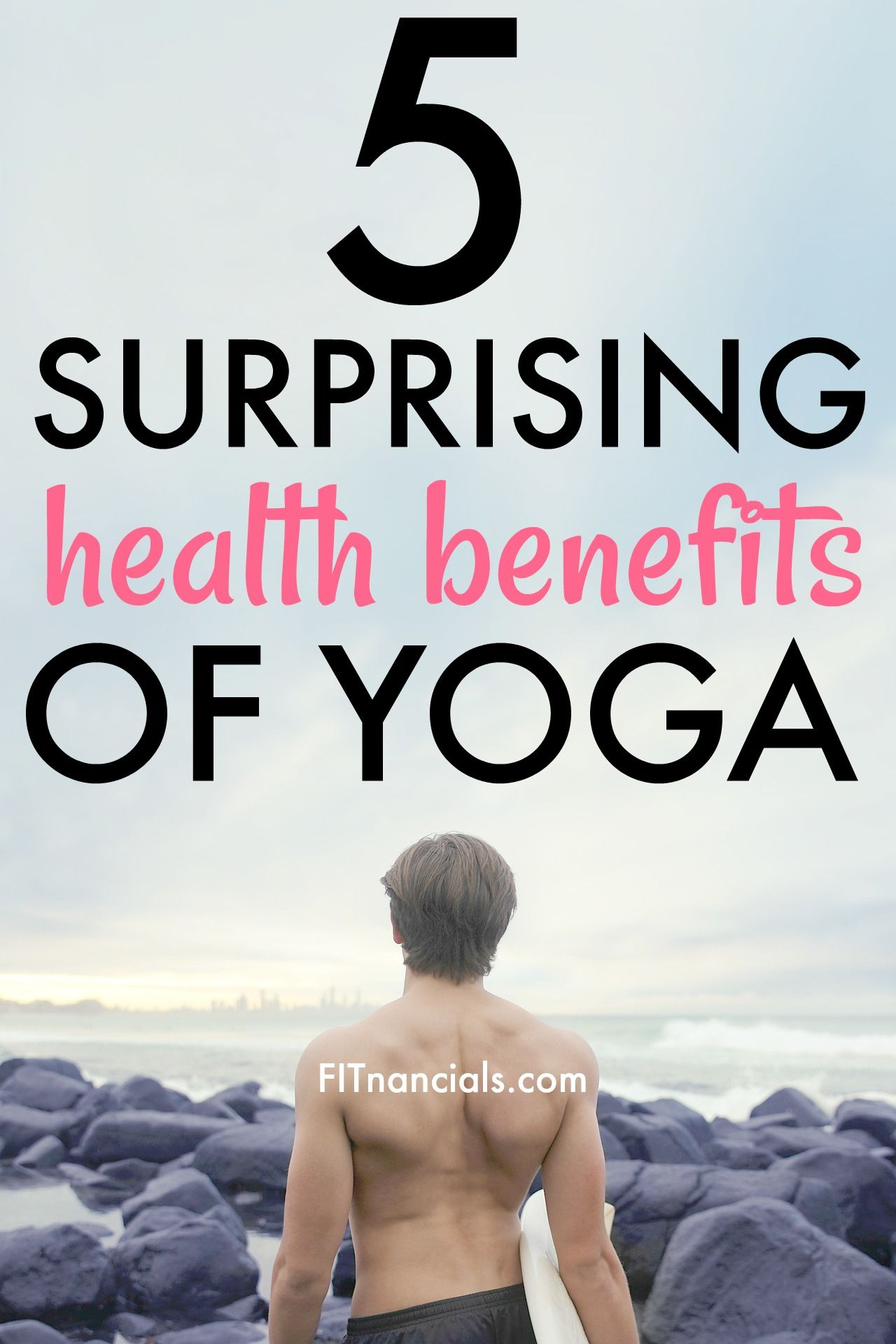 Check out these 5 surprising health benefits of yoga. Yoga does so much good for the body. This is such a great list.