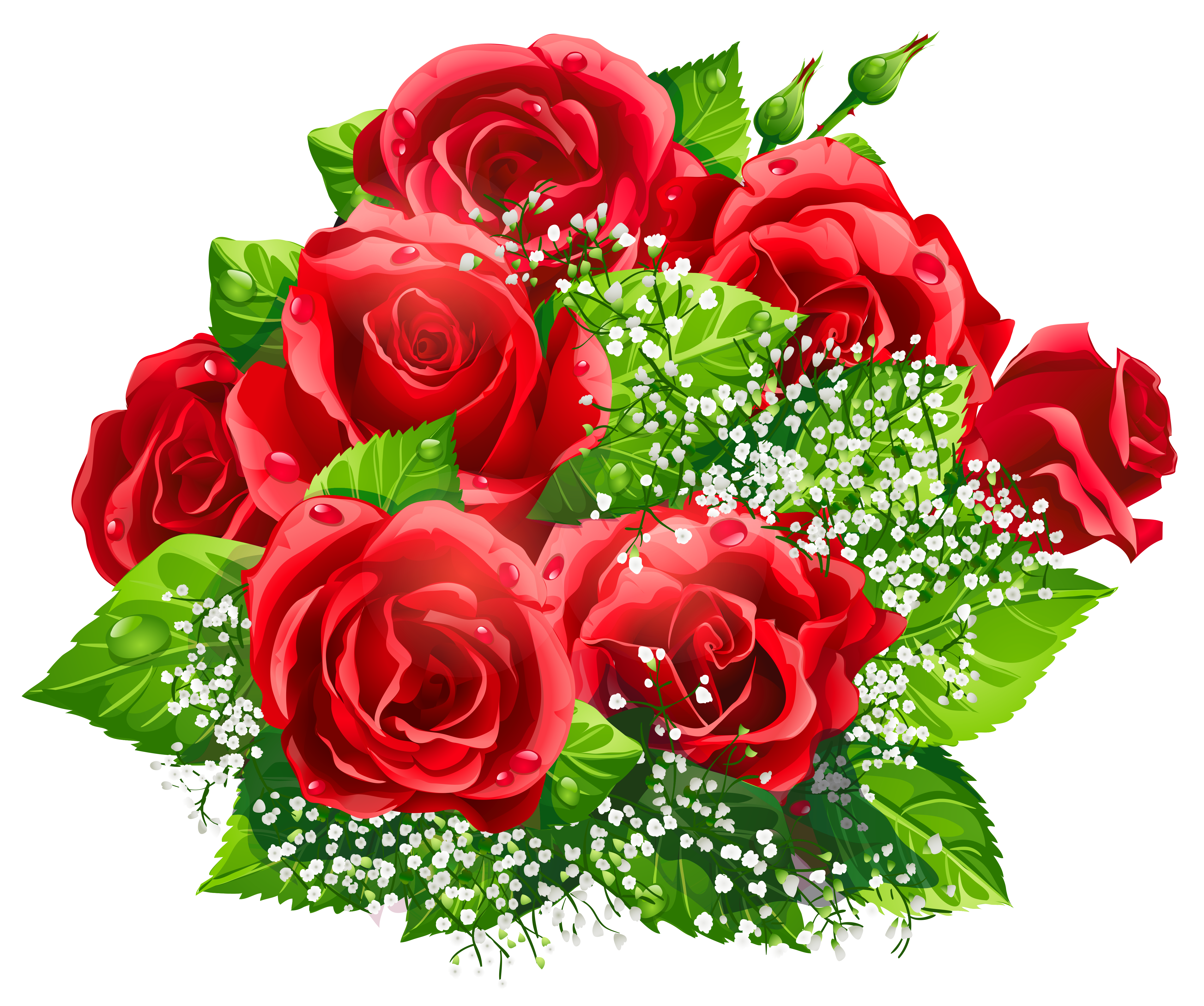 Beautiful Red Roses Decor Png Clipart Gallery Yopriceville High Quality Images And Transparent Png Free Cli Flower Bouquet Png Flowers Beautiful Red Roses