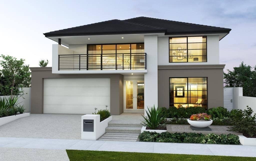 Hausbau, Modell, Wohnen, Kalifornien, Süß, Haus, Fotos, Architekturdesign,  Eingangswege