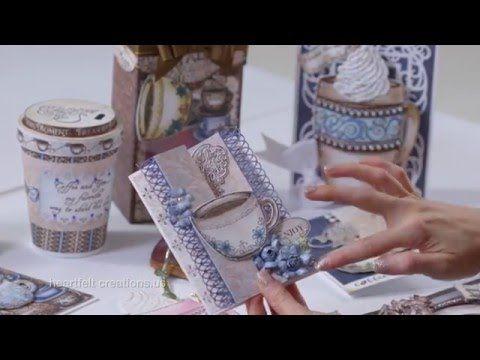 Create a Shaped Coffee Mug Card + Bonus Coloring Tips - YouTube. Using Nautical Blue & Toffee Crunch Momentous Inks