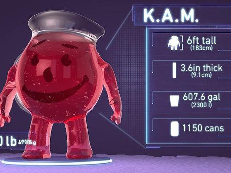 Can The Kool Aid Man Bust A Brick Wall And Survive Oh Yeah Kool Aid Man Kool Aid Brick Wall