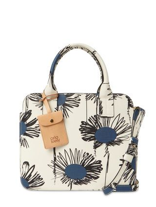 Scribble Sunflower Small Satchel Bag by Orla Kiely at Gilt