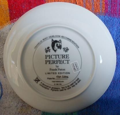 Franklin Mint Heirloom recommends Picture Perfect