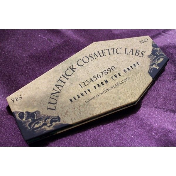 LunatiCK Cosmetic Labs - Beauty from the Crypt. - Vorpal Witch ❤ liked on Polyvore