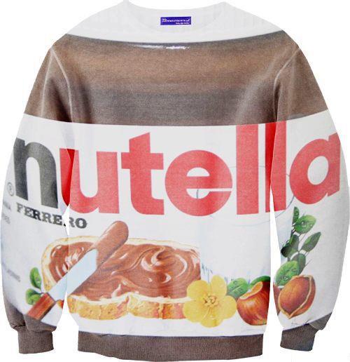 nutella sweatshirt