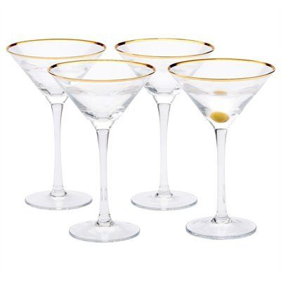 Make Any Gathering A More Elegant Affair With Our New Martini Gles Ours Have Long Stems And Clically Shaped Coupes Inspired By Gilded Age Glamour