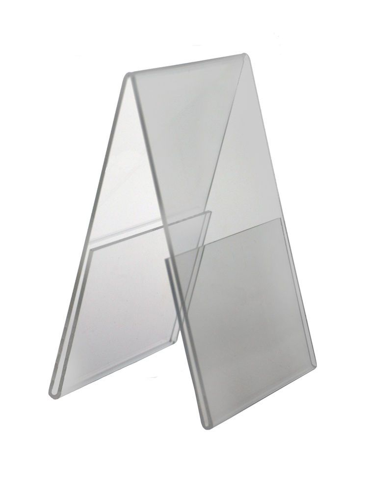 Double Sided Frame Stand Sign Holder 5 X 7 Ad Display Counter
