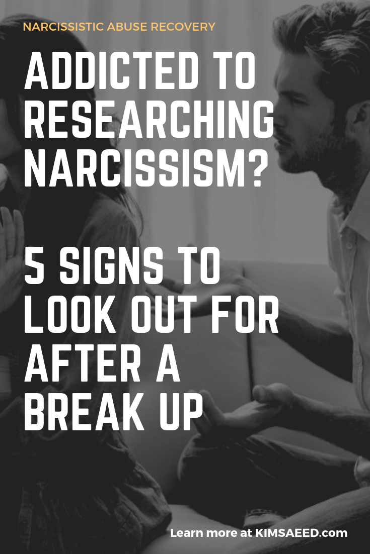 Addicted to Researching Narcissism: 5 Signs to Look Out for
