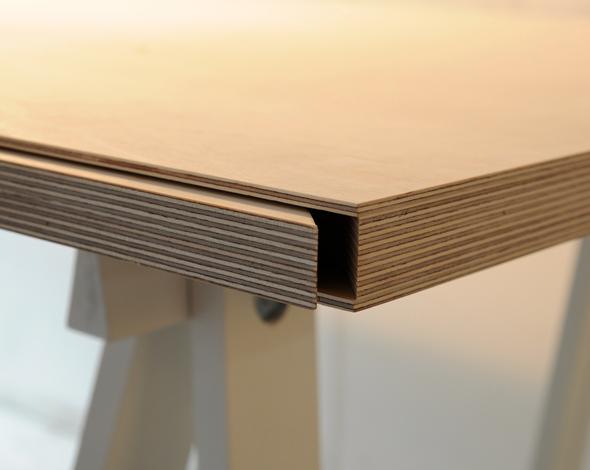 Hidden Compartment Desk Hidden Drawer Plywood Desk