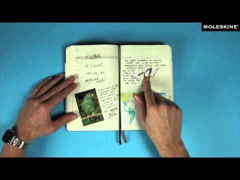 Moleskine Passions - Travel Journal - YouTube