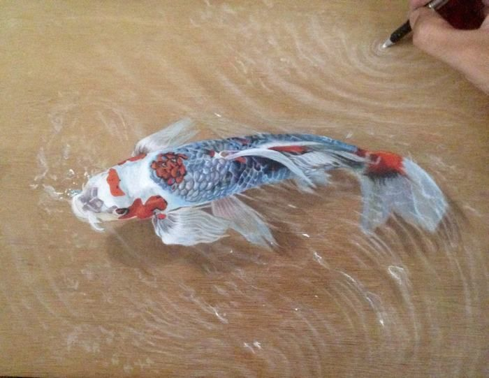 120 Jaw Dropping Koi Fish Tattoo Designs Their Meaning: Fish Drawings, Koi Fish Drawing