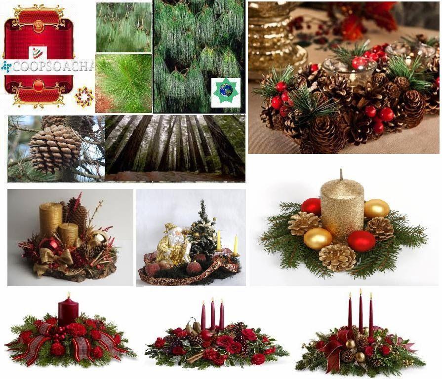 Centros de mesa navide os buscar con google adornos - Centros mesa navidenos ...