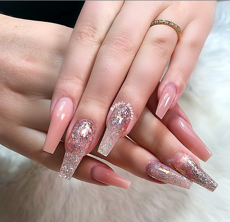 53 Chic Natural Gel Nails Design Ideas For Coffin Nails Natural Gel Nails Gel Nail Designs Gel Nail Colors