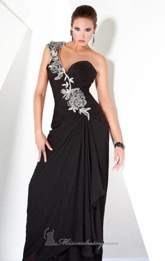 Vestidos largos elegantes para bodas. Para una ceremonia de mucha ...