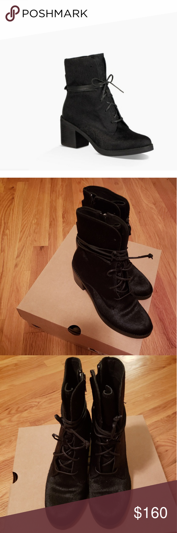 7cd9e6bd5a9 UGG Oriana Exotic Boots NWT Cow Hair boots hits above ankle leather ...