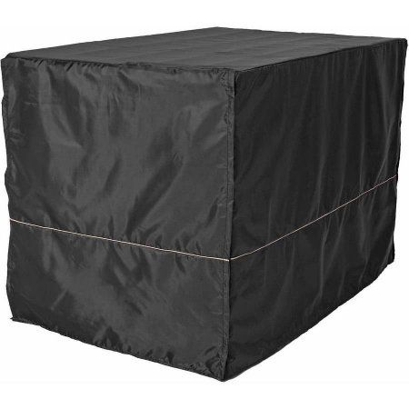 Midwest 48 inch Black Polyester Crate Cover