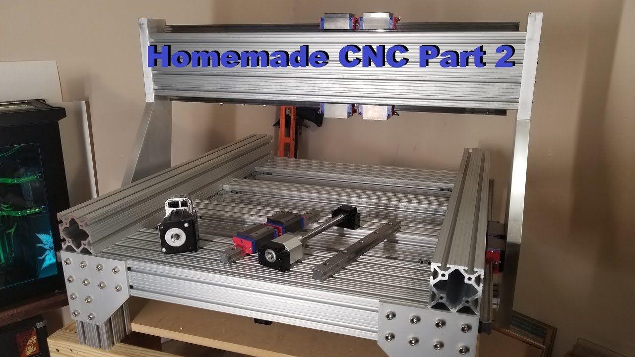 Homemade DIY CNC build Part 2 (Gantry)