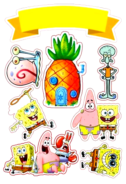 57 Trendy Birthday Diy Ideas Decoration Cake Toppers Diy Cake Birthday Spongebob Birthday Party Spongebob Birthday Spongebob Drawings