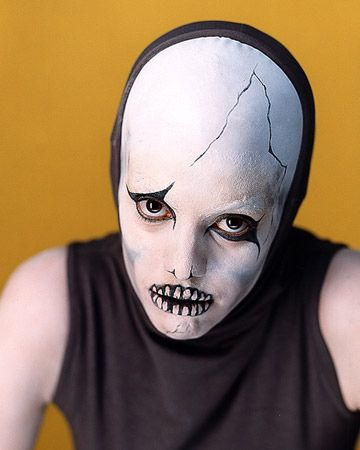 Or do a skeleton if you're feeling spookier. | 16 Super-Last-Minute Halloween Costume Ideas
