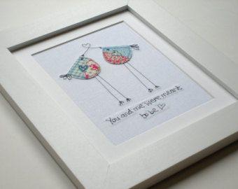 Original textile art textile picture quirky cat by AlisonWhateley
