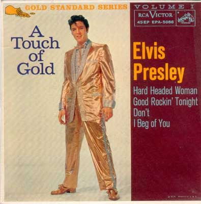 First pressings of US Elvis Presley EPs First edition, released April 21, 1959