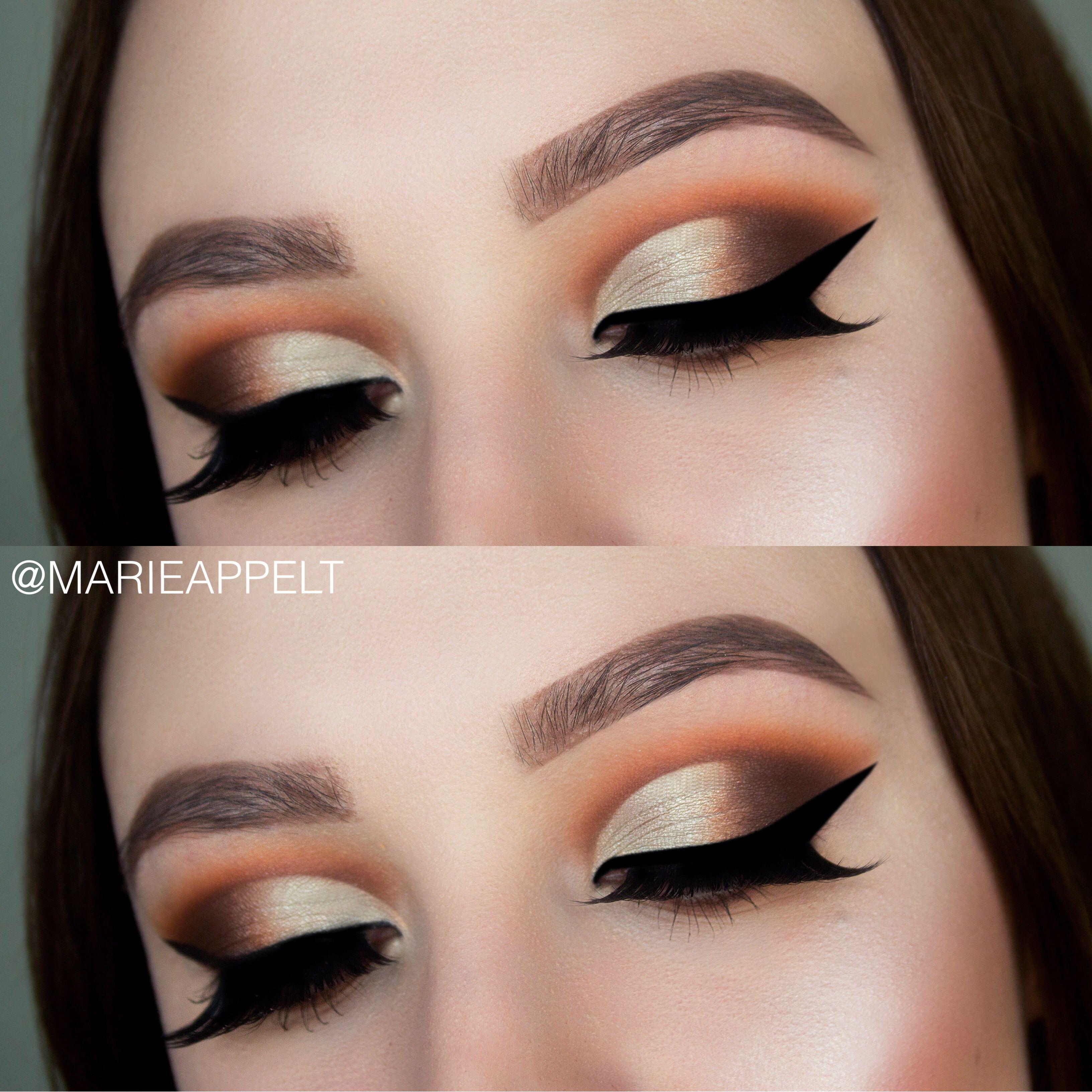 jaclyn hill x morphe brushes palette makeup tutorial, makeup, look
