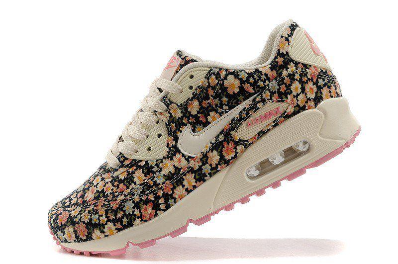 Nike air max 90 jasmine flower print by nike free run