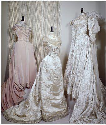 Stalking the Belle Époque: Royal Fashion: Princess Alexandra's Evening Dress, 1900