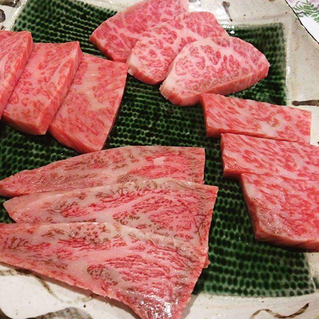 まる廣さんにて・お肉祭り、 イチボ、ザブトン、サーロイン コ・ス・パ最高❤ #お肉 #ステーキ #お肉祭り  #お肉大好き #肉食 #肉食女子 #おにく #肉 #にく #ロース #サーロイン #イチボ #鉄板焼