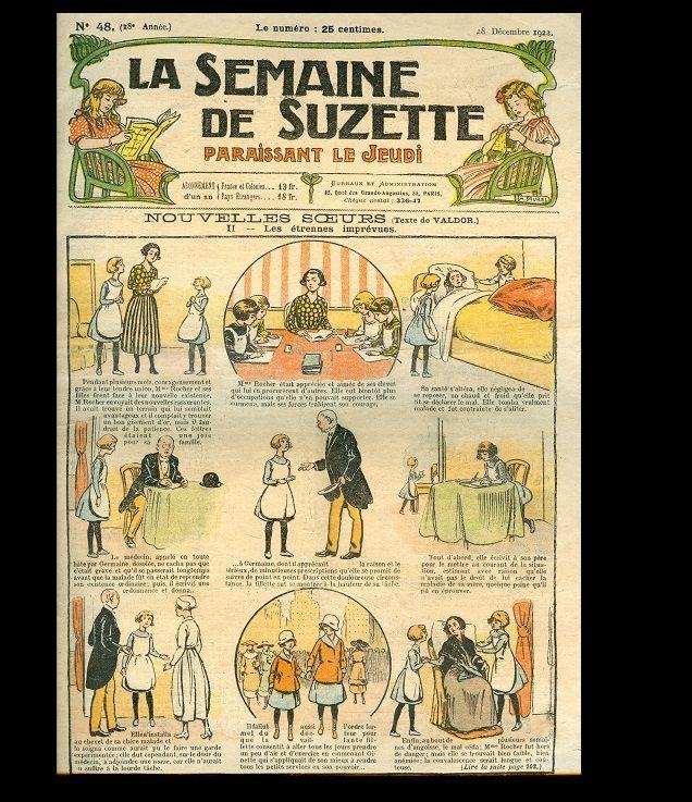 1922 Semaine de Suzette! Bleuette Doll Ad!