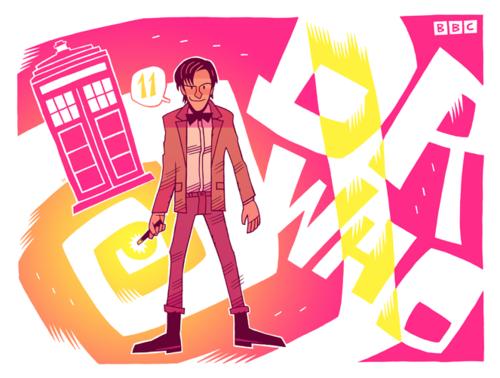 {Doctor Who : 11} by Dan Hipp