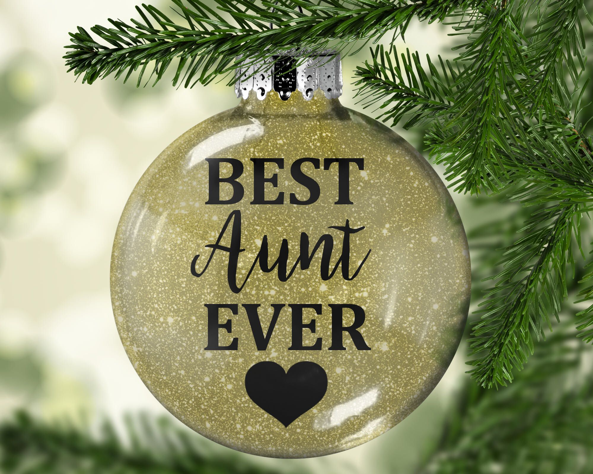 Aunt ornament best aunt ever aunt gift gift for aunt