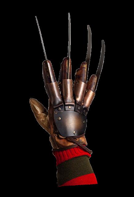 A Nightmare On Elm Street 3 Dream Warriors Deluxe Freddy Krueger Glove Dream Warriors A Nightmare On Elm Street Nightmare On Elm Street