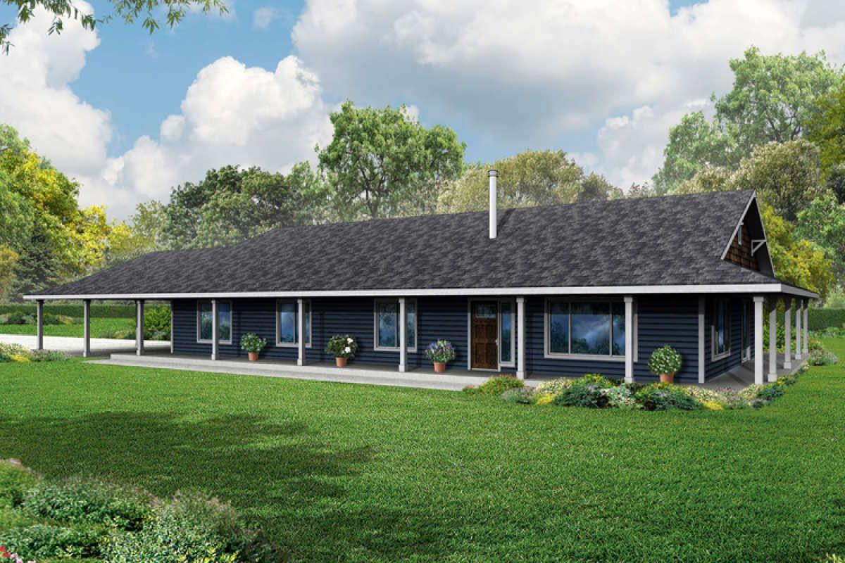 Ranch House Plan 035